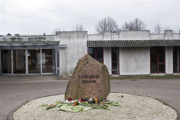Bostedet Lindegården i Roskilde. 25. marts 2016