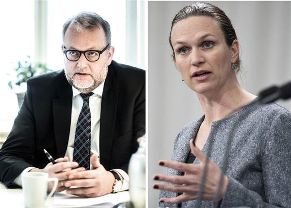Klimaministeren og undervisningsministeren