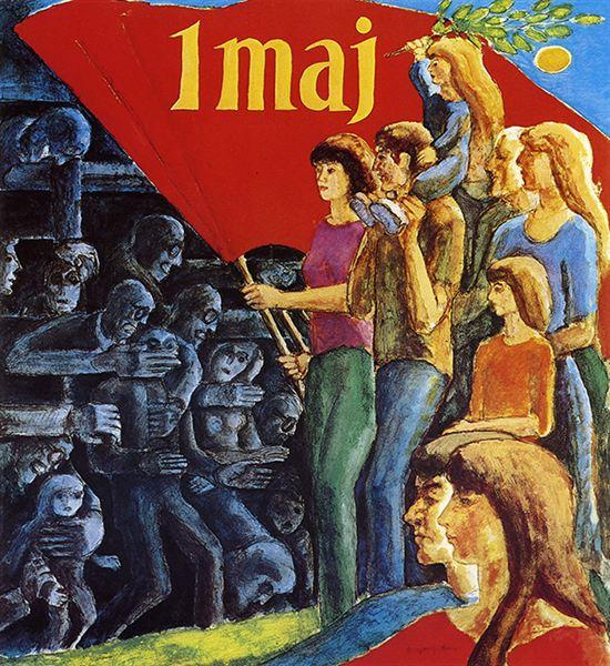 Ib Spang Olsens plakat fra 1976