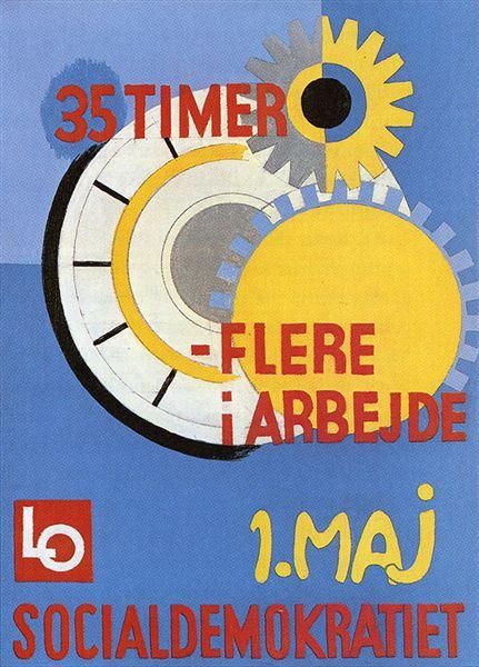 Helge Ernsts plakat fra 1984