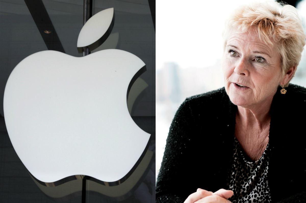 Apple har store investeringer i Danmark, men det skal ikke give dem ret til at gå uden om det danske retsvæsen og sagsøge staten ved overnationale domstole, mener LO's formand Lizette Risgaard.
