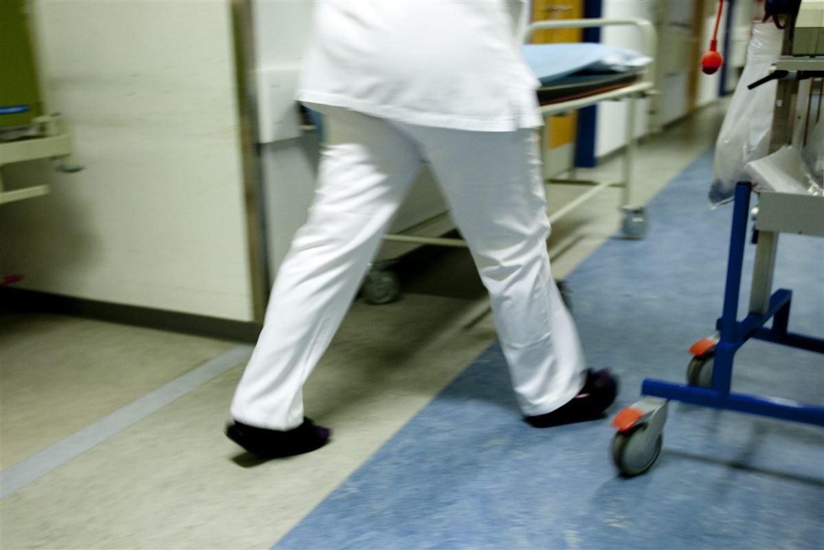 Ansatte på hospitaler er blandt de mest pressede.