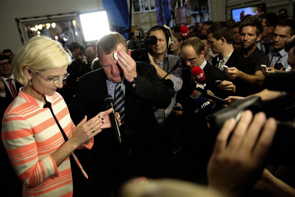 Lars Løkke Rasmussen (V) måtte efter valget til EU-Parlamentet i maj tage ansvaret for en syngende lussing fra vælgerne.