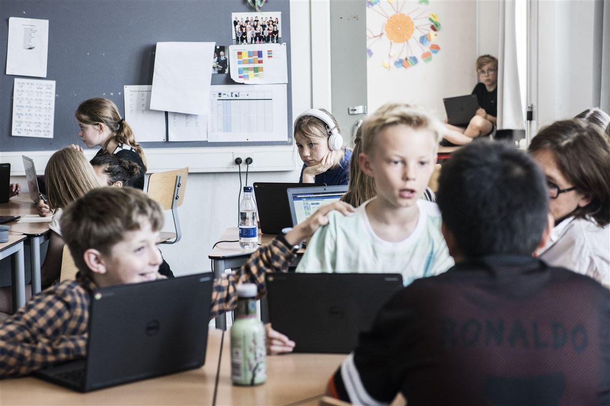 Små 300.000 elever fra 4. til 9. klasse har deltaget i den landsdækkende trivselsmåling.