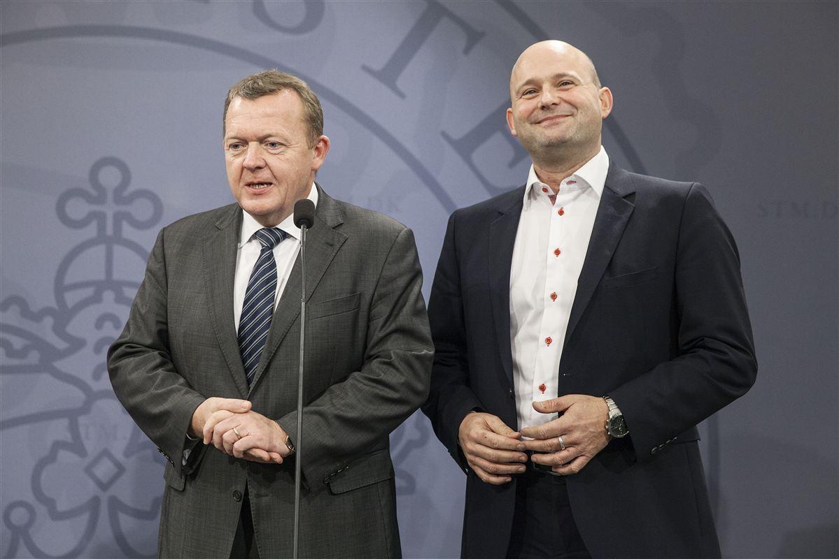 De to borgerlige partiledere, Lars Løkke Rasmussen (V) og Søren Pape Poulsen (K), har ikke overbevist danskerne om deres lederevner.