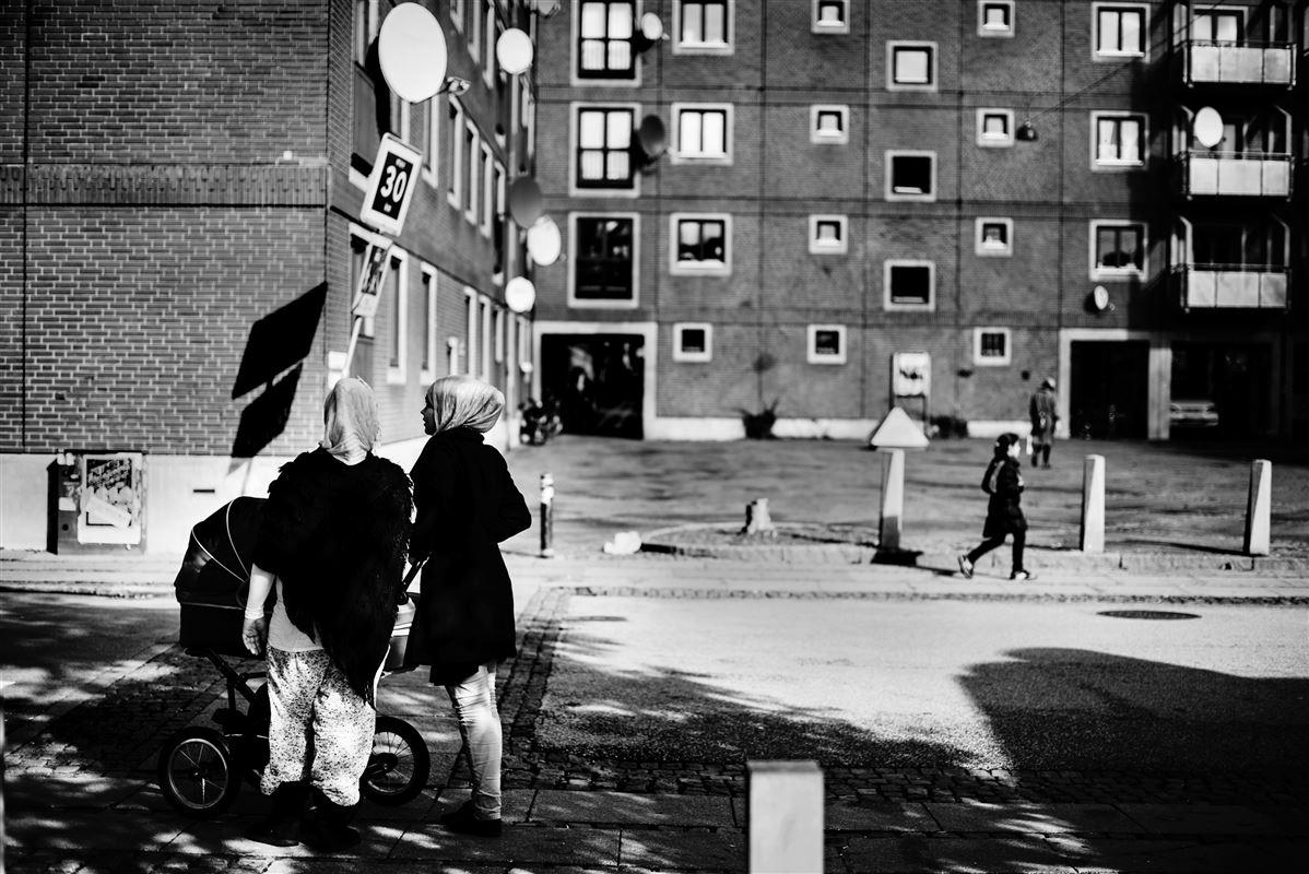 Indvandrerfamilier med mange børn rammes forholdsvist hårdere af kontanthjælpsloftet end etniske danskere. - Arkivfoto.