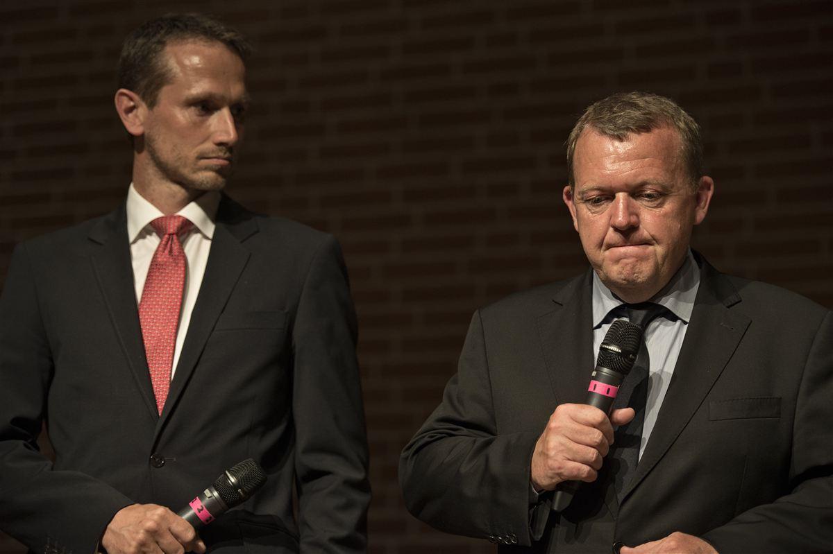 To, der står sammen: Kristian Jensen og Lars Løkke Rasmussen får en maratonopgave med at genvinde de borgerlige vælgeres tillid.