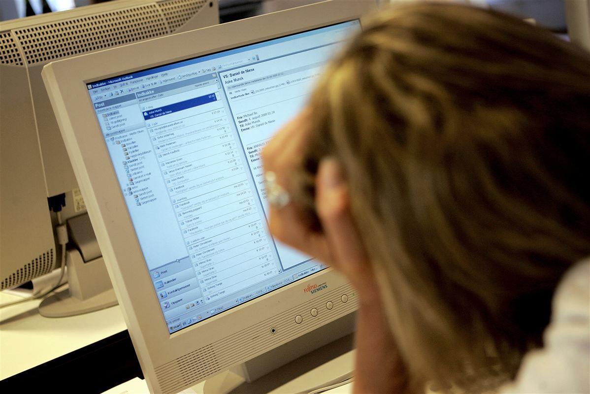 Arbejdspresset er vokset markant i ministerierne i de seneste år.