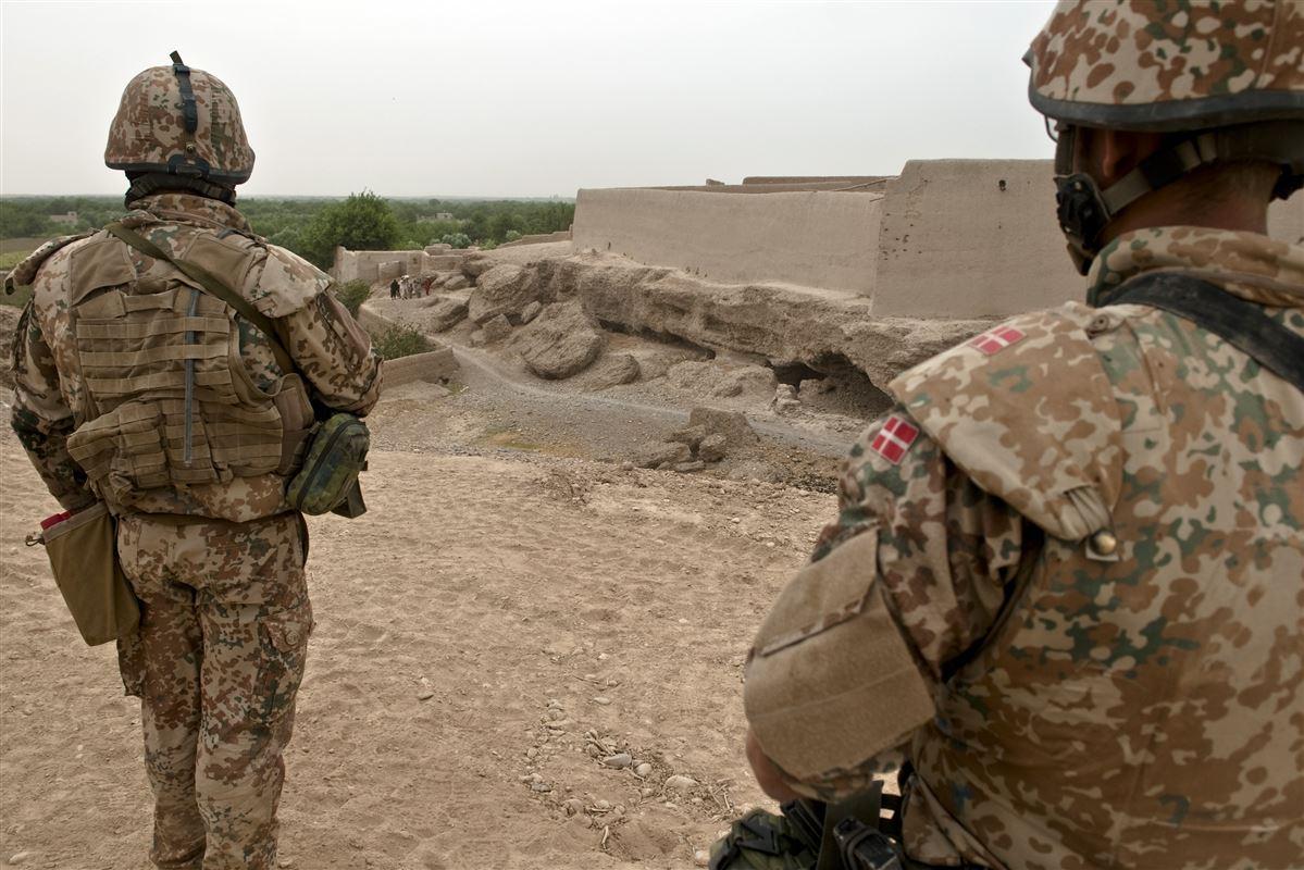 Danske soldater i Afghanistan. Arkivfoto