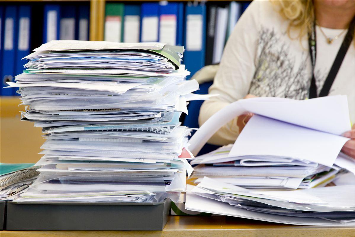 Sagsbunker hober sig op. Ulæste mails bliver slettet ud fra devisen: Hvis de er vigtige, dukker de op igen.