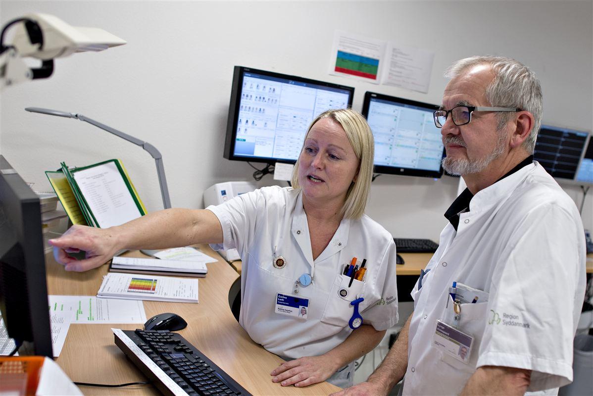 Fremover vil flere sygeplejersker og læger kunne holde øje med hinandens placering, når de er på arbejde.