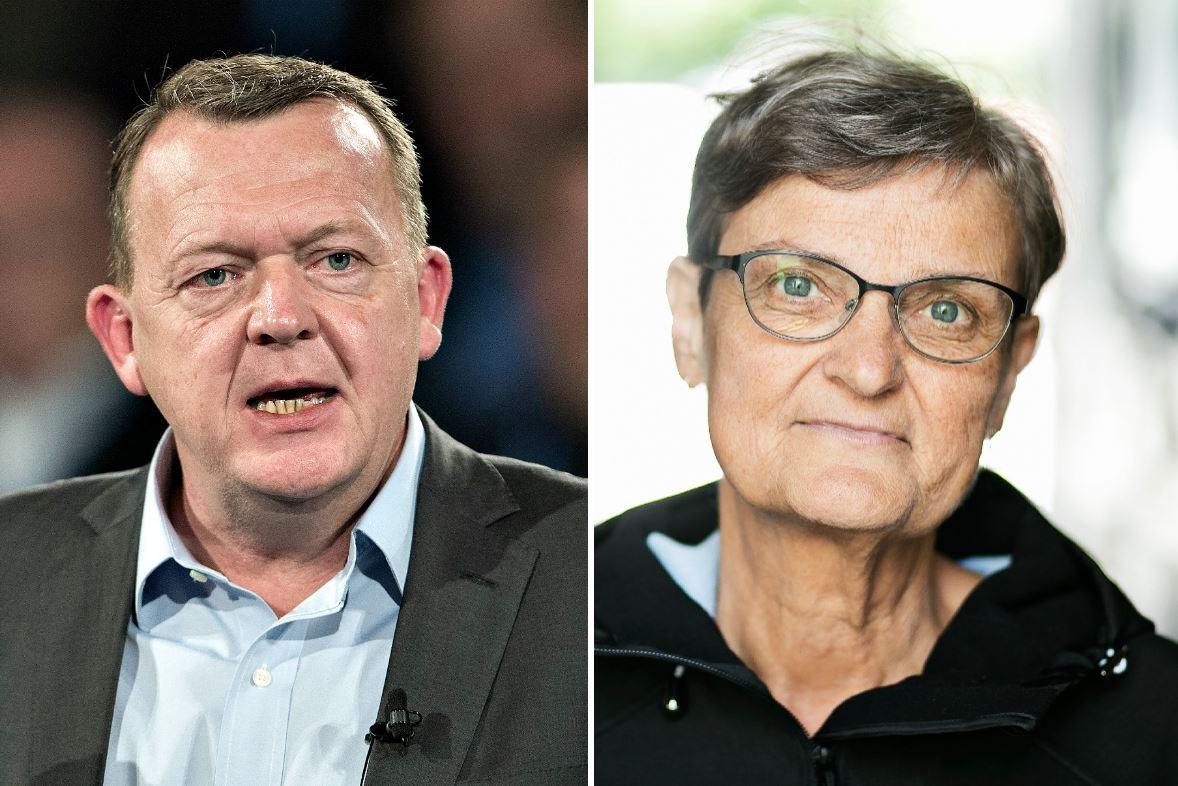 Uddannelsesforbundets formand Hanne Pontoppidan (t.h.) er glad for, at statsminister Lars Løkke Rasmussen vil forbedre uddannelses- og jobmulighederne for unge med særlige behov. Men hun advarer mod at lade kommunerne overtage ansvaret.